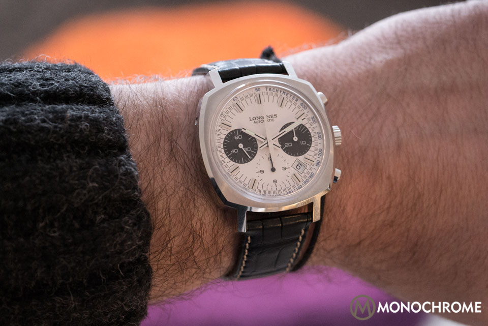 Introducing the Longines Heritage 1973 with Column-Wheel Chronograph Movement