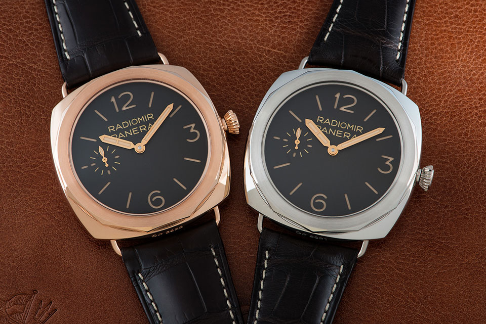Introducing the Panerai Radiomir Platino and Oro Rosso 47mm Special Edition