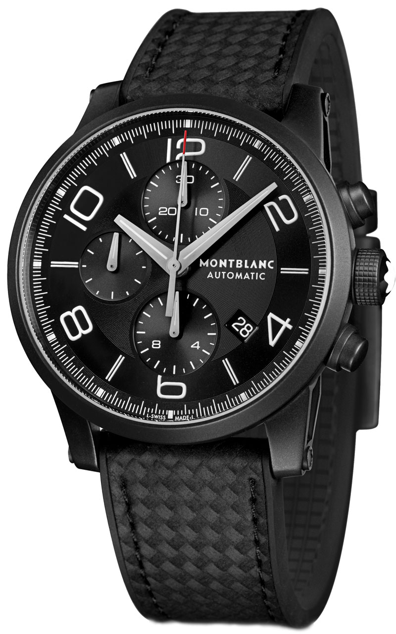 Pre-SIHH 2014: Introducing the Montblanc TimeWalker Extreme Chronograph DLC