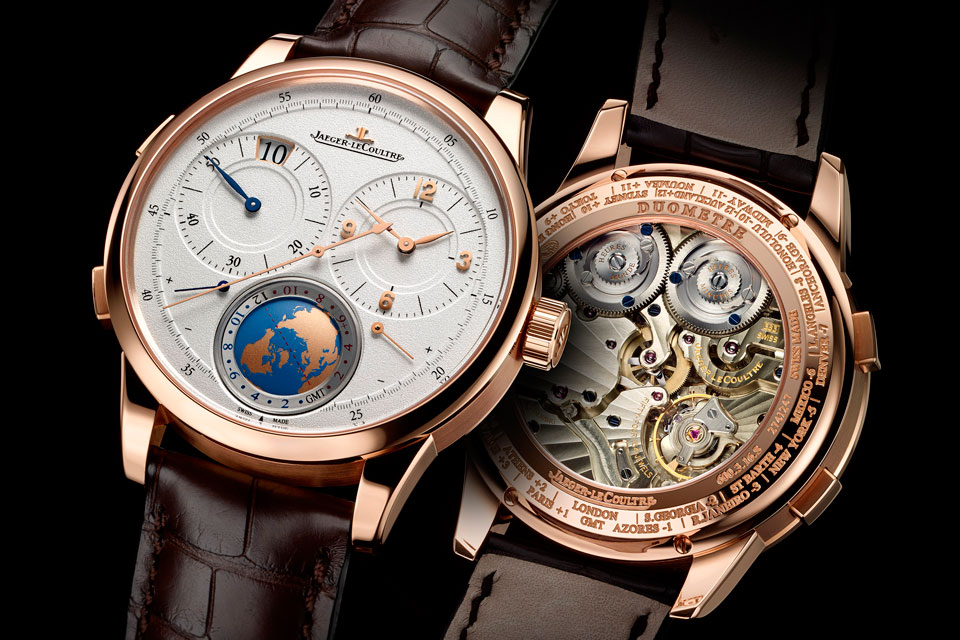 Pre-SIHH 2014: Jaeger-LeCoultre Duometre Unique Travel Time in Rose Gold